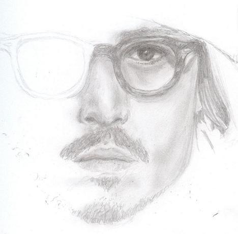 Johnny Depp by doodlebugamy